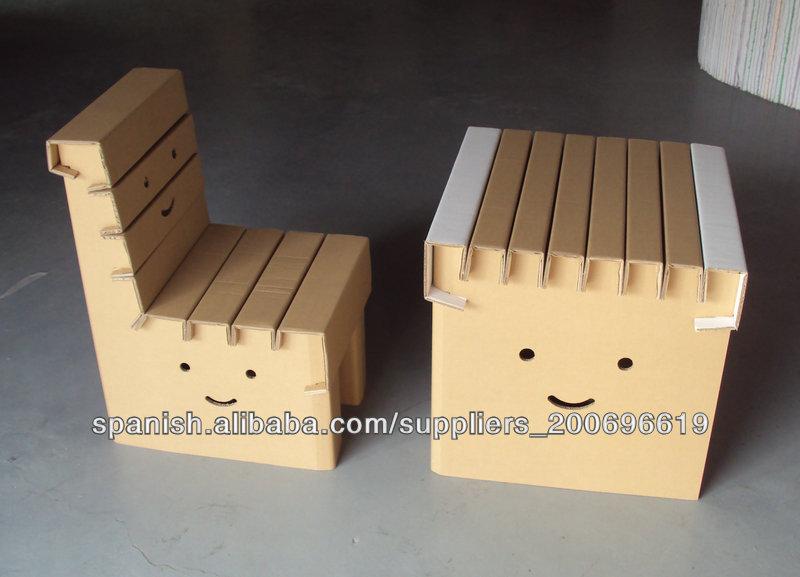 Plegables ni os cart n estudio tabla silla dkpf20130719z - Sillas de estudio para ninos ...