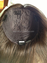 Whoesale factory price 100% virgin European Hair Jewish Kosher Kippa Fall
