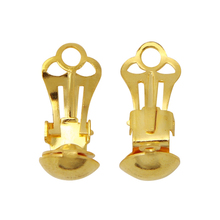 Nickel, lead and Cadmium free brass earring clips on earring