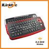 2.4g wireless keyboard and optical mouse combo wheel trackball wireless keyboard
