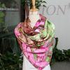 Factory No MOQ Free Sample Digital print custom design silk scarf