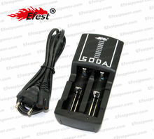2014 released factory price Efest Soda charger 18650 dual charger Soda charger for 18350/18500/18650 battery