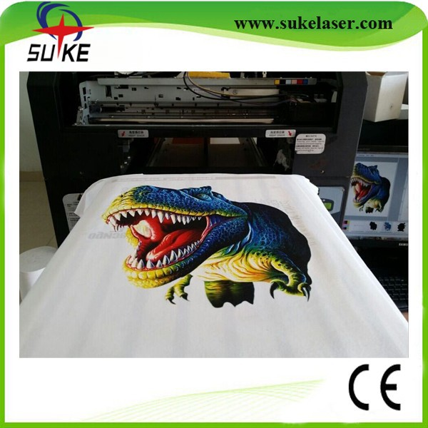 Factory direct digital t shirt printing machine with dx5 for Computerized t shirt printing machine