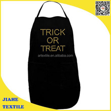 trick or treat candy corn Halloween adult apron