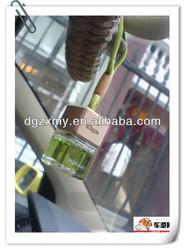 Custom car air freshener for wooden lids