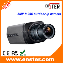 5 mp H.265 ip camera CCTV camera waterproof ip camera onvif p2p function autofocus lens