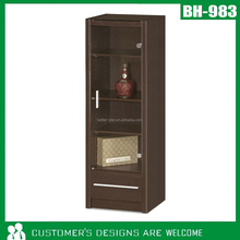 Modern Glass Cabinet, Home Glass Cabinet, Wood Glass Cabinet