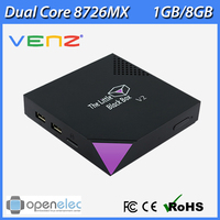 Wholesale VENZ Linux XBMC TV Box TLBB The Little Black Box