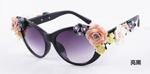 promotional fahion sun glasses, women uv400 carved flower engraved sunglasses for Various themes