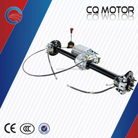 CE approved electric motor tricycle/car/TUK TUK/Tour bus Disc brake Rear Axle