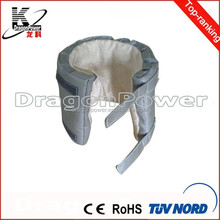 removable ball valve insulation blanket