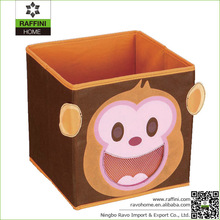 Shop Popular Monkey Design Non woven Cartoon Storage Box