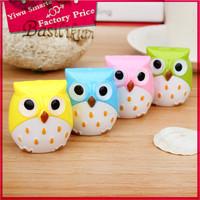 Mini Funny Cute Lovely Owl Pattern Pencil Eye Pen Sharpener School Kid's Favorite Pretty