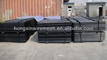 black bituminous painted T or Y star picket hot sale