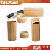 2015 wholesale hot selling hand made wooden and bamboo sunglasses case