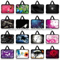 10-17 inch universal laptop sleeve soft carrying case Laptop PC Sleeve Bag Case Pouch +Hide Handle