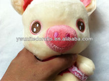 New Factory WhoseSale voice recording plush toys plush toy blue pig soft toy pig