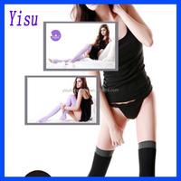 300pairs Women Overnight Slimming Socks Leggings Shaping Leg Stocking ,black and purple(OPP bag)