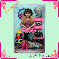 Beautiful Young Fashion Dress-up Girl Baby Doll