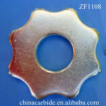 8 PT Tungsten carbide tipped flails/cutter blade, Carbide TCT (tipped)Cutters, in scarifiers used in floor preparation