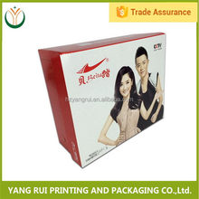 Design Customized Hot Printed paper packing box for condom,kraft paper cookies packing box,paper medicine packing box