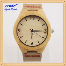 2015 most popular steel/wood watch casual wristwatch