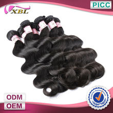 XBL Human Hair 6A Grade Easy Dying Indian Remi Wholesale Virgin Hair Weave