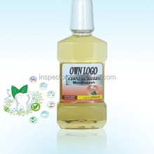 Green Tea Anti-septic Mouthwash Brand, Herbal Ingredients, Keep Refreshing for All Day Long, Pass GMPC