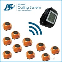 button switch wireless calling button for hospital, calendar display call system for hospital, call bell system for cafee shop