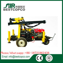 Easy Operation BY130 Portable Water Well Drilling Machine 130m Made in China