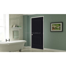China Decorative New Design Black Used Solid Wood Interior Doors