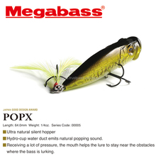 Hand-painted top water fishing lure from fishing tackle Japan manufacturer