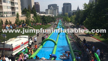 300meter Large Water Slide The City/Giant Inflatable Slide with water