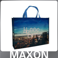 recycled picture printing laminated plastic bag,laminated non woven bag