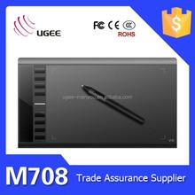 M708 Digital Art Graphics Tablet of handwriting input pad
