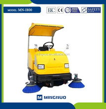 I800 OEM solid surface cleaning sweeper truck , mini street sweeper car, driveway scavenging machine