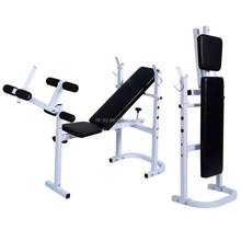Foldable Barbell Deluxe Standard Weight Bench