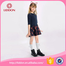 Chinese socks factory directly supply cute girl tube cotton socks,school children in white knee high socks