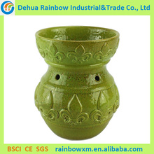 wholesale glazed green cheap candle warmers with ETL&UL approval