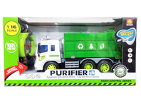 new rubbish truck 4ch light ABS promotion rc trailer truck with EN71