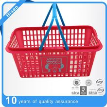 plastic basket with handle, new plastic food basket,plastic laundry basket