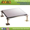 Barato de la baldosa del laminado alta presión / antiestático / a prueba de golpes / panel de acero raised floor para moderna