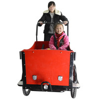 cheap 3 wheel dutch adult tricycle passager made in China