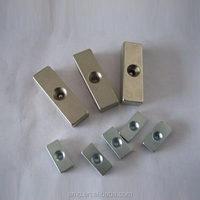 Neodymium NdFeB block Magnet with countersunk hole