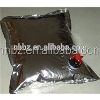 Nice Quality the latest wine bib bag in box 3L made in nanhua packaging