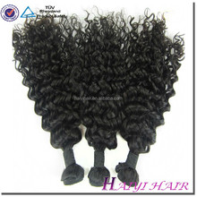 factory price hot selling 100% virgin human hairwhole sale 18inch curly human hair weaving