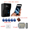 FDL-WFK12 wireless wifi video door phone home access control support Andriod and Iphone