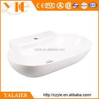 Popular and beautiful 560*390*125 white ceramic wash basin models price