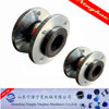 stainless steel and carbon steel flexible double ball rubber joint