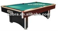 Marble Billiard Pool Table,Alumium Hardwood ,Slate Surface,K66 Soft Rubber KBL-B126